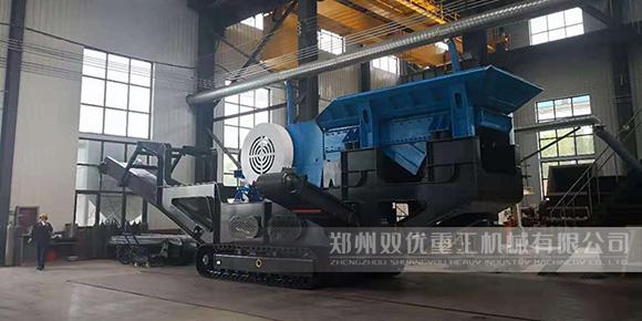 莆田新型移动式破碎机 350吨/时厂家报价多少钱